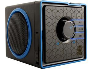 Gogroove (GGSVBX0110BKUS) SonaVERSE BX Portable Stereo Speaker System w/ Rechargeable Battery & 3.5mm Aux Port - ...