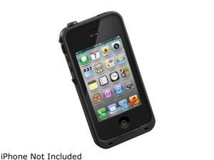 LifeProof Black Solid Case for iPhone 4 / 4S LPIPH4CS02BL