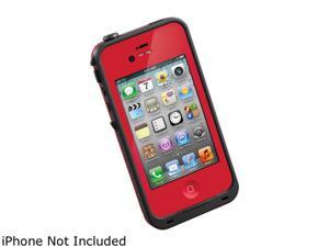 LifeProof Red Solid Case for iPhone 4 / 4S LPIPH4CS02RD