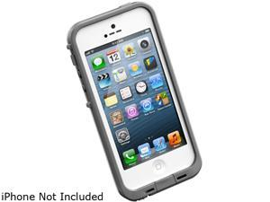 LifeProof fre White / Gray Case For iPhone 5 1301-02