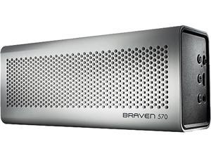 Braven BZ570WBP White Portable Wireless Bluetooth Speaker