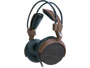 """GOgroove AudioLUX WDX Professional Over-ear Headphones with Wood Encased Drivers , 3.5mm AUX Connection & Included ¼"""" Audio Coupler"""