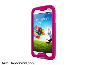 LifeProof NUUD Magenta/Gray/Clear Case for Galaxy S4 1801-03