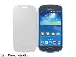 SAMSUNG White Solid Flip Cover for Galaxy S III Mini EF-FG730BWESTA