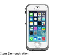 LifeProof Case 2105-02 for Apple iPhone 5/5s/SE (Nuud Series) - White/Grey