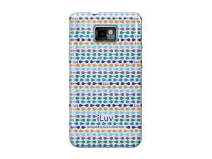 iLuv Festival Blue Hard Shell Case for Samsung GALAXY S II iSS222
