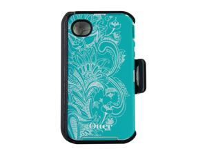 OtterBox Defender Teal / White Celestial Case For iPhone 4/4S 77-20407