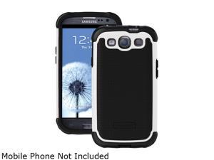 Ballistic Case Shell Gel (SG) Black / White Case For Samsung Galaxy S III SG0930-M385