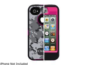 OtterBox Defender Urban Pink Military Camo Case For iPhone 4/4S APL2-I4SUN-L1-E4OTR