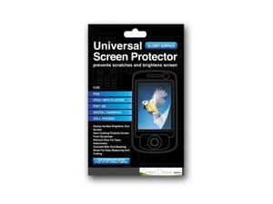 "Green Onions Supply Clear Glossy Screen Protector For Up To 5"" Screens (RT-SPB10U1)"