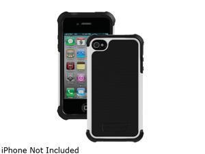 Ballistic Case Black / White SG Case For iPhone 4/4S                                                                             SA0582-M385