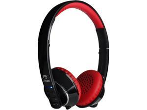 MEElectronics Air-Fi AF32 Black/Red Stereo Bluetooth Headset w/ Hidden Microphone