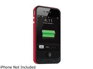 mophie Juice Pack Plus Red 2000mAh Battery Case For iPhone 4 / 4S 1205_JPP-IP4-RED