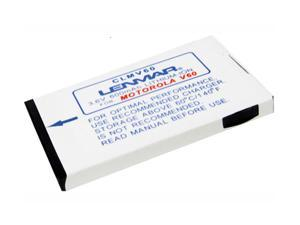 Lenmar White 780 mAh Battery For Motorola Cellphone CLMV60