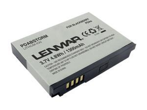 Lenmar Black Replacement Battery for BlackBerry Storm, Curve 8900, 9530 and others (PDABSTORM)
