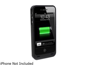 Lenmar Black Battery Powered Case for iPhone 4 (BC4)