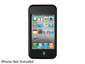 iLuv Black Flex-Trim Case for iPhone 4 CDMA iCC741BLK