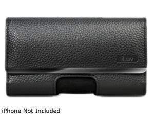iLuv The Clipper Black Belt-Clip Case for iPhone 4 iCC756BLK