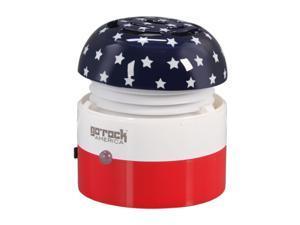 Go Rock America Mini Portable Speaker w/ Retractable Cables SPKR-GRI-RWB