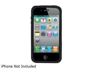iEssentials Black Silicone Skin Case For iPhone 4 (IPH4-SC-BK)