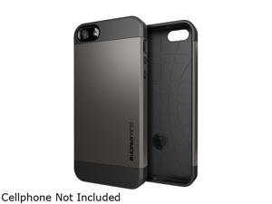 Spigen Slim Armor S Gunmetal Spider Web Case For iPhone 5 / 5S SGP10475