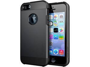 Spigen Tough Armor Smooth Black Case For iPhone 5 / 5S SGP10492