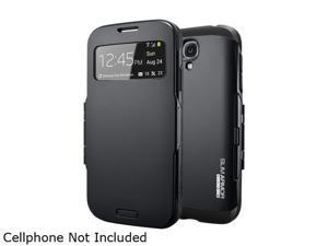Spigen Slim Armor View Smooth Black Case For Galaxy S4 SGP10343