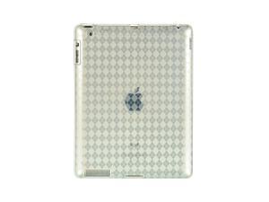 Apple iPad 3/The New iPad/iPad 2 Clear Checker Design Crystal Skin