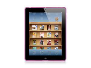 Apple iPad 3/The New iPad/iPad 2 Hot Pink Tinted Design Crystal Skin