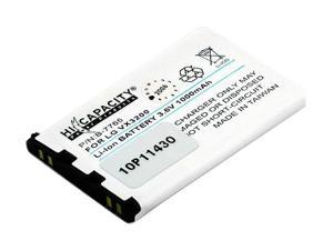 Battery-Biz 1000 mAh Replacement Battery for LG PM325 VX3200 VX6100 B-7765