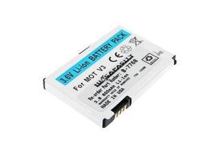 Battery-Biz White Cell Phone Battery for Motorola RAZR-V3 SNN5696B (B-7768)