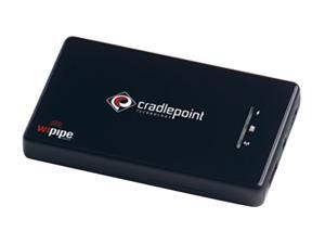 Cradlepoint Black Personal Wi-Fi Hotspot w/ 3G&4G Ready / WiPipe Powered (PHS300)