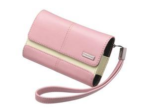 BlackBerry Pink Leather Folio w/Wrist Strap For Curve 8900 / Storm 9500 (34-2090-01-RM)