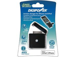 DigiPower Black Jump Start 400 mAh External Power Pack for iPhone 3G/3GS JS1-IP