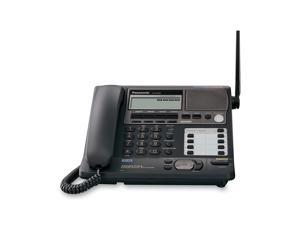 Panasonic KX-TG4500B 5.8 GHz 4-Line Digital FHSS Expandable Corded/Cordless Phone with Answering Machine System and 1 Handset