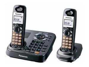 Panasonic KXTG9342T 1.9 GHz Digital DECT 6.0 2X Handsets Expandable Phone System 2 Handsets