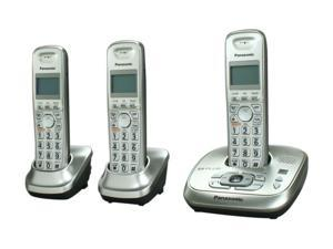 Panasonic KX-TG4023N 1.9 GHz Digital DECT 6.0 3X Handsets Cordless Phone with Answering Machine