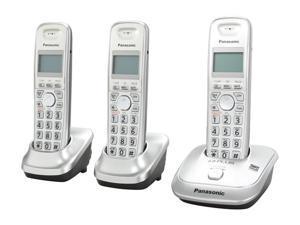 Panasonic KX-TG4013N 1.9 GHz Digital DECT 6.0 3X Handsets Cordless Phone
