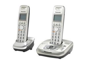 Panasonic KX-TG4022N 1.9 GHz Digital DECT 6.0 2X Handsets Cordless Phone Integrated Answering Machine