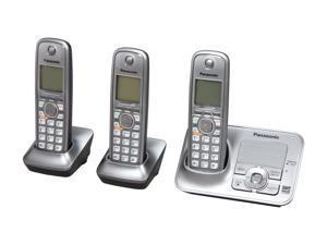 Panasonic KX-TG4133M 1.9 GHz Digital DECT 6.0 3X Handsets Cordless Phone