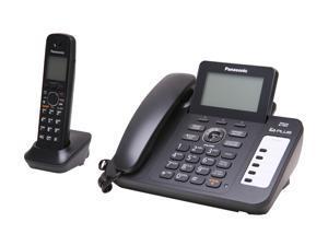 Panasonic KX-TG6671B 2 Handset Corded / Cordless Phone