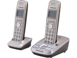 Panasonic KX-TG4222N 1.9 GHz DECT 6.0 2 Cordless Handsets and Digital  Answering System