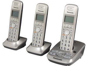 Panasonic KX-TG4223N 1.9 GHz DECT 6.0 3X Handsets Expandable Digital Cordless Answering System Integrated Answering Machine