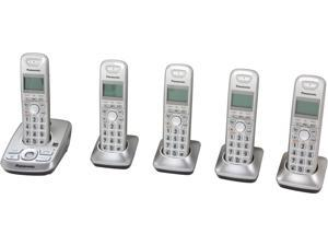 Panasonic KX-TG4225N 1.9 GHz DECT 6.0 5X Handsets Expandable Digital Cordless Answering System