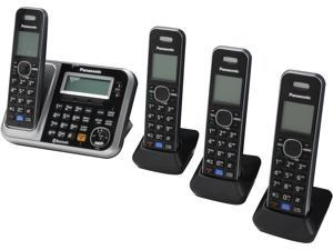Panasonic KX-TG7874S 1.9 GHz DECT 6.0 4X Handsets Bluetooth Cellular Convergence Solution Integrated Answering Machine