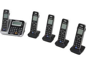 Link2Cell Bluetooth® Cordless Phone with Enhanced Noise Reduction- 5 Handsets