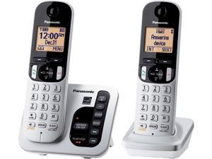 Panasonic KX-TGC222S  Expandable Digital Cordless Answering System, 2 Handsets