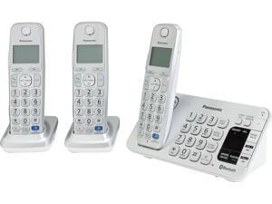 Link2Cell Bluetooth® Corldess Phone with Large Keypad- 3 Handsets