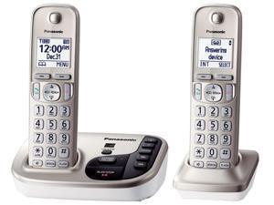 Panasonic  KX-TGD222N  DECT 6.0  2X  Handsets Cordless Phones