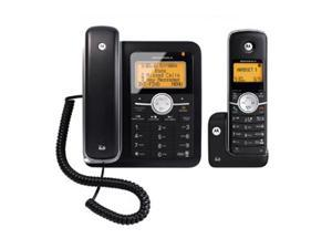 MOTOROLA L402C 1.9 GHz Digital DECT 6.0 Corded Phone with 1 Handset Cordless Phone and Answering System